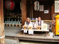 Asisbiz Kinkaku ji Temple 18 the priests Kyoto Japan Nov 2009 06