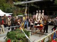 Asisbiz Kinkaku ji Temple 18 the priests Kyoto Japan Nov 2009 07