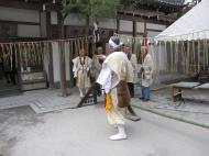 Asisbiz Kinkaku ji Temple 18 the priests Kyoto Japan Nov 2009 08