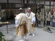 Asisbiz Kinkaku ji Temple 18 the priests Kyoto Japan Nov 2009 09