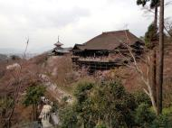 Asisbiz Otowa san Kiyomizu dera Pagoda Hon do Kyoto during cherry blossom season Mar 2010 03