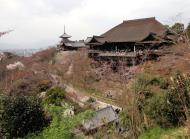 Asisbiz Otowa san Kiyomizu dera Pagoda Hon do Kyoto during cherry blossom season Mar 2010 04