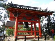 Asisbiz Bronze Bell tower Kiyomizu dera Kyoto Nov 2009 03
