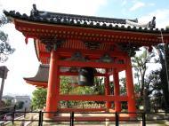 Asisbiz Bronze Bell tower Kiyomizu dera Kyoto Nov 2009 04