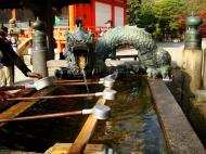 Asisbiz Bronze Water dragon statue Kiyomizu dera Kyoto Nov 2009 02