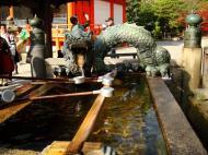 Asisbiz Bronze Water dragon statue Kiyomizu dera Kyoto Nov 2009 03
