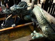 Asisbiz Bronze Water dragon statue Kiyomizu dera Kyoto Nov 2009 04