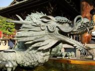 Asisbiz Bronze Water dragon statue Kiyomizu dera Kyoto Nov 2009 06