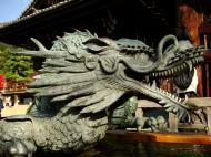 Asisbiz Bronze Water dragon statue Kiyomizu dera Kyoto Nov 2009 07