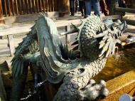 Asisbiz Bronze Water dragon statue Kiyomizu dera Kyoto Nov 2009 09