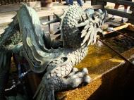 Asisbiz Bronze Water dragon statue Kiyomizu dera Kyoto Nov 2009 10
