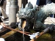 Asisbiz Bronze Water dragon statue Kiyomizu dera Kyoto Nov 2009 12