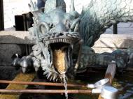 Asisbiz Bronze Water dragon statue Kiyomizu dera Kyoto Nov 2009 13