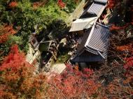 Asisbiz Kiyomizu dera Otowa no taki spring waterfall Kyoto Nov 2009 03