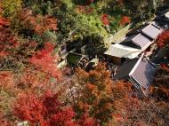Asisbiz Kiyomizu dera Otowa no taki spring waterfall Kyoto Nov 2009 05