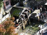Asisbiz Kiyomizu dera Otowa no taki spring waterfall Kyoto Nov 2009 12