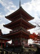 Asisbiz Otowa san Kiyomizu dera Pagoda Kyoto Nov 2009 01