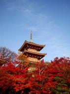 Asisbiz Otowa san Kiyomizu dera Pagoda Kyoto Nov 2009 14