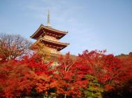 Asisbiz Otowa san Kiyomizu dera Pagoda Kyoto Nov 2009 16