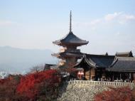 Asisbiz Otowa san Kiyomizu dera Pagoda Kyoto Nov 2009 19