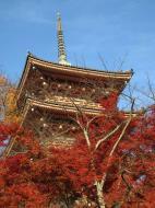 Asisbiz Otowa san Kiyomizu dera Pagoda Kyoto Nov 2009 23