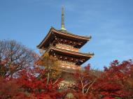 Asisbiz Otowa san Kiyomizu dera Pagoda Kyoto Nov 2009 25