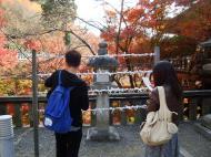 Asisbiz Otowa san Kiyomizu dera Prayer walls Kyoto Nov 2009 03