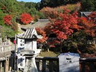 Asisbiz Otowa san Kiyomizu dera Temple Buildings Kyoto Nov 2009 18