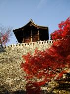 Asisbiz Otowa san Kiyomizu dera Temple wall Kyoto Japan Nov 2009 01
