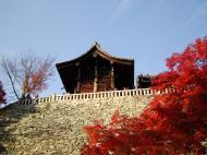 Asisbiz Otowa san Kiyomizu dera Temple wall Kyoto Japan Nov 2009 02