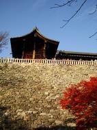 Asisbiz Otowa san Kiyomizu dera Temple wall Kyoto Japan Nov 2009 03