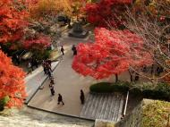 Asisbiz Otowa san Kiyomizu dera garden walkways Kyoto Nov 2009 01