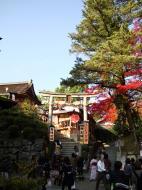 Asisbiz Otowa san Kiyomizu dera garden walkways Kyoto Nov 2009 12