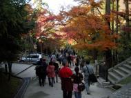 Asisbiz Otowa san Kiyomizu dera garden walkways Kyoto Nov 2009 14