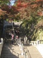 Asisbiz Otowa san Kiyomizu dera garden walkways Kyoto Nov 2009 41
