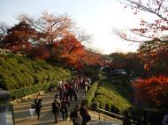 Asisbiz Otowa san Kiyomizu dera garden walkways Kyoto Nov 2009 46