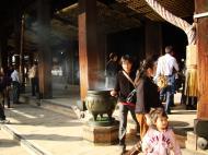 Asisbiz Otowa san Kiyomizu dera main hall shrine room Nov 2009 03