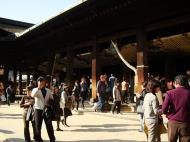 Asisbiz Otowa san Kiyomizu dera main hall shrine room Nov 2009 05