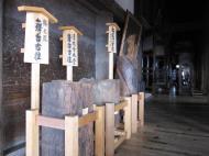 Asisbiz Otowa san Kiyomizu dera main hall shrine room Nov 2009 07