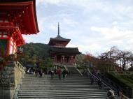 Asisbiz Otowa san Kiyomizu dera main hall shrine room Nov 2009 08