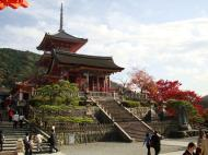 Asisbiz Otowa san Kiyomizu dera main hall shrine room Nov 2009 09