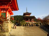 Asisbiz Otowa san Kiyomizu dera main hall shrine room Nov 2009 11