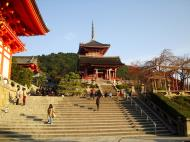 Asisbiz Otowa san Kiyomizu dera main hall shrine room Nov 2009 12