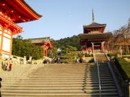 Asisbiz Otowa san Kiyomizu dera main hall shrine room Nov 2009 15