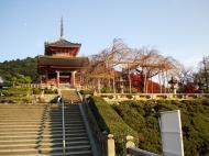 Asisbiz Otowa san Kiyomizu dera main hall shrine room Nov 2009 16