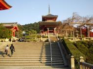 Asisbiz Otowa san Kiyomizu dera main hall shrine room Nov 2009 17
