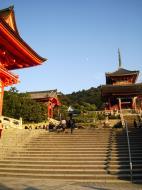 Asisbiz Otowa san Kiyomizu dera main hall shrine room Nov 2009 19