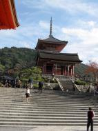 Asisbiz Otowa san Kiyomizu dera main hall shrine room Nov 2009 21
