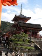 Asisbiz Otowa san Kiyomizu dera main hall shrine room Nov 2009 23
