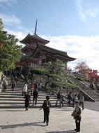 Asisbiz Otowa san Kiyomizu dera main hall shrine room Nov 2009 25